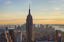 USA, New York State, New York City, View Of Empire State Building At Manhattan