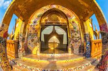 .Thailand Beautiful Temple Built On A Hilltop,Phasornkaew, Phetc