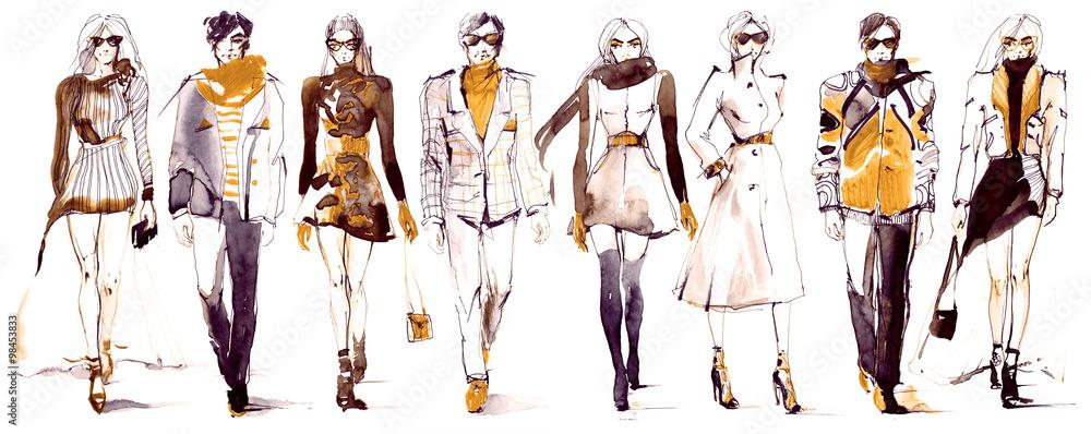Fototapeta fashion