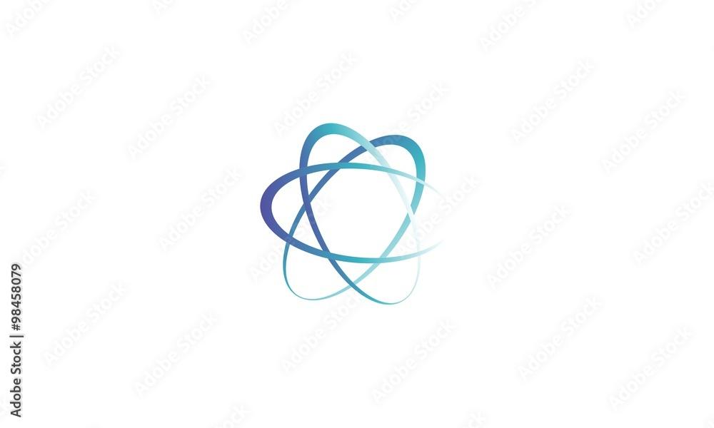 Fototapety, obrazy:  abstract circle company logo