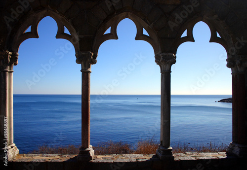 Canvas Prints Liguria Hammond Castle..