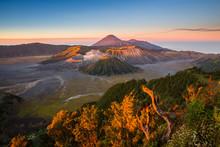 Amazing Sunrise In Mount Bromo