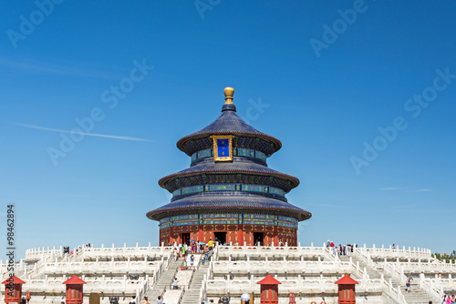 Tuinposter Beijing Temple of Heaven, Peking, China