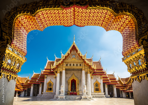 Marble Temple - Bangkok Canvas Print