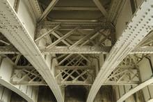 Underside Of An Old Road Bridge