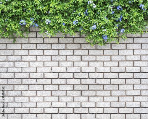 dekoracyjny-zielony-ogrod-na-sciana-z-cegiel