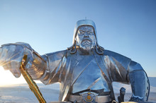 Genghis Khan With Legendary Go...