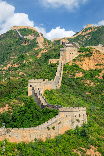 The Majestic spectacular Great Wall of China