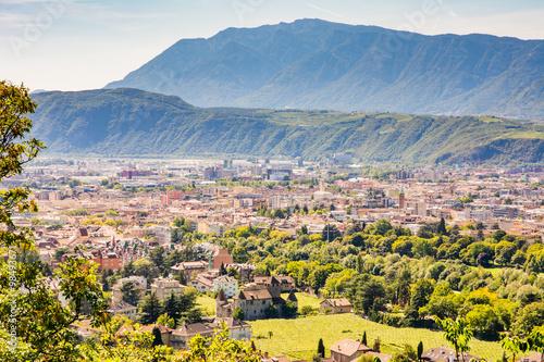 Fotografie, Obraz  Pohled přes Bolzano