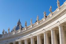 The Dome Of The Basilica St.Pietro, Vatican