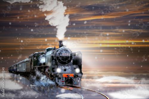 Polar Express. Fototapete
