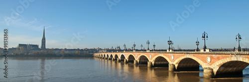 Poster Bridges Pont de Pierre à Bordeaux