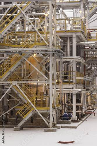 industrial construction of fuel production petrochemical plant - Buy