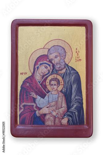 Obraz na płótnie Holy Family icon