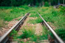 .Railway During The Rainy Seas...
