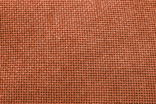 Orange Woven Material / Textile Background Texture - Large File.