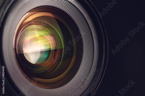 Fotografía  Lente de la cámara