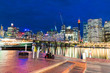 Buildings and skyscrapers of Darling Harbour - Sydney, Australia