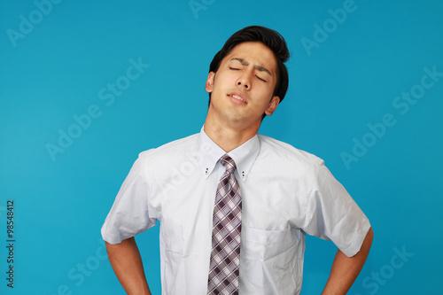 Fotografie, Obraz  疲れたビジネスマン
