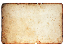 Blank Paper Texture Isolated O...