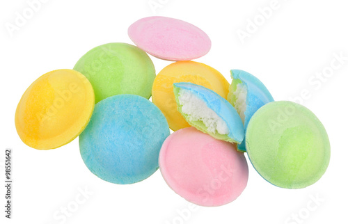 Fotobehang Snoepjes Flying Saucer Novelty Sweets