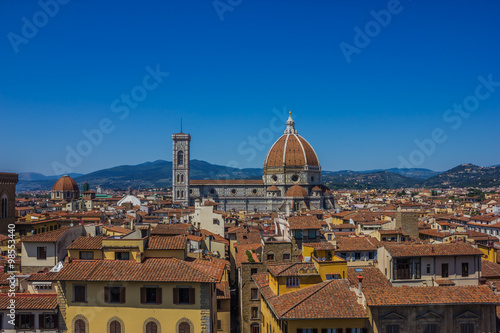 Photo Stands Florence Cathedral of Santa Maria del Fiore VIII