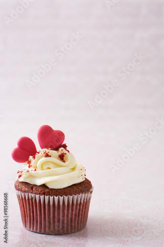 valentine cupcake Canvas Print