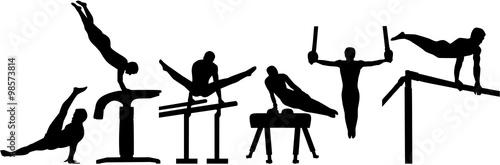 Tela Rhythmic gymnastics pictogram