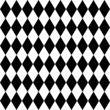 Jednolity arlekin czarno-biały wzór - 98574030