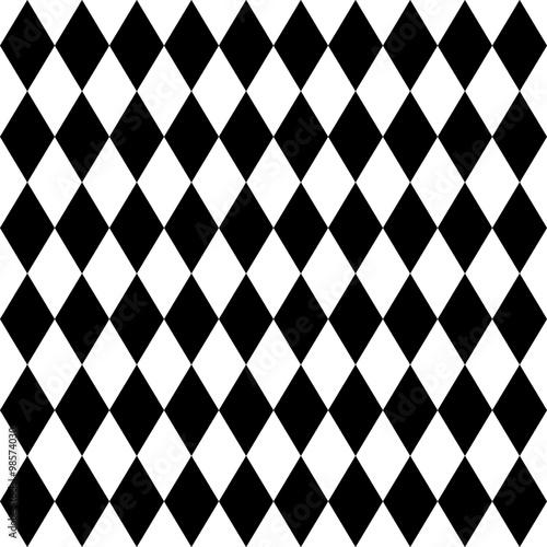 bezproblemowa-arlekin-wzor-czarno-bialy