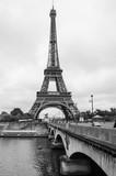 Fototapeta Fototapety z wieżą Eiffla - la dame de fer