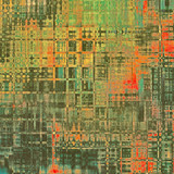 Abstract retro background or old-fashioned texture. With different color patterns: yellow (beige); red (orange); blue; green; black