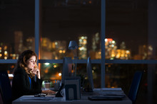 In Dark Office