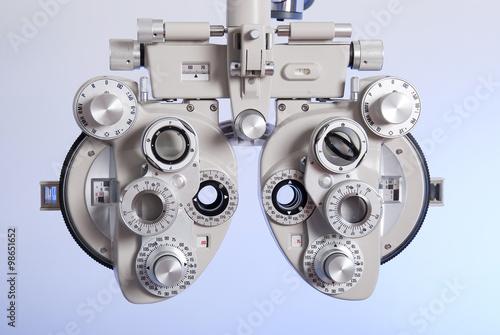 Fotografía  Optometry machine vision