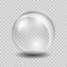 White Transparent Vector Glass...