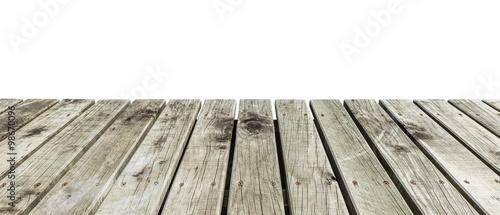wooden pier Wallpaper Mural