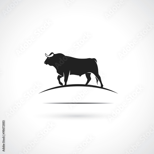 Black bull symbol