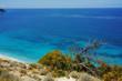 Blue Waters of the ionian sea, near Agios Nikitas Village, Lefkada, Ionian Islands, Greece