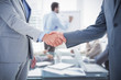 Shake hands Business cooperation