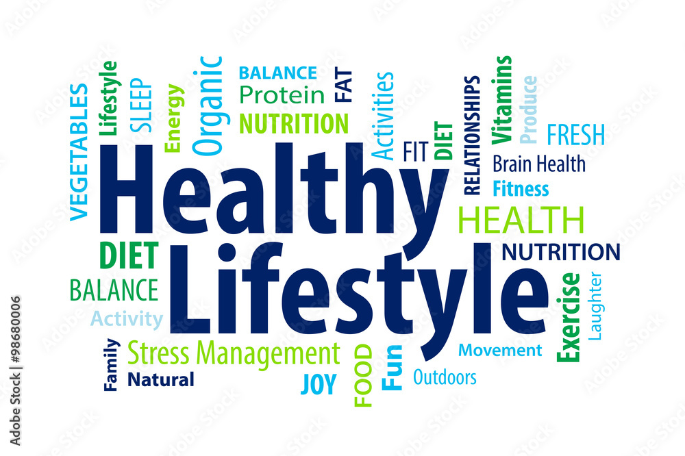 Fototapeta Healthy Lifestyle