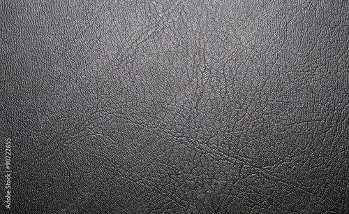 Staande foto Leder Light-black texture of natural skin, with veins. Leather texture. Сloseup