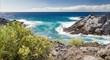 herrliche Atlantikküste in Teneriffa mit Meeresrauschen