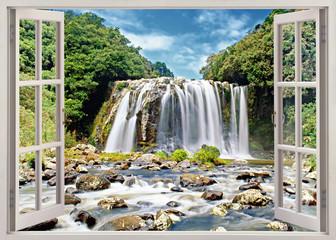 FototapetaBlue Bassin falls