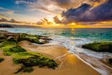 Fototapeta Fototapety z morzem do Twojej sypialni - A beautiful Hawaiian Sunset