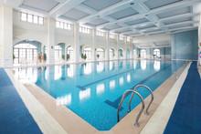 Interior Of Modern Swimming Pool