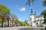 Fototapeta Miasto - Stary Rynek w Łowiczu