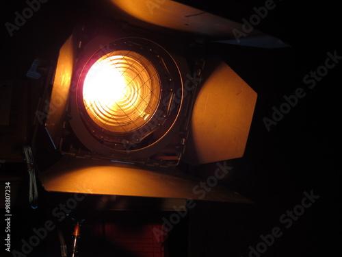 Valokuva  Scheinwerfer mit Torblenden