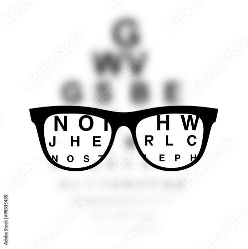Fotografía  Optometry medical background