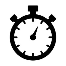Stopwatch Timer Flat Icon For ...
