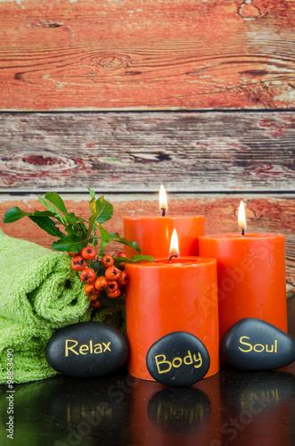 Fotografía  body, soul and relax concept